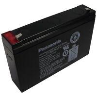 Panasonic Blei-Akku 12V 12Ah LC-RN1212PG1 mit VDS Zulassung Faston 6,3 USV