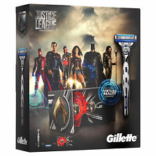 Gillette Mach3 Turbo Justice League Set, 1 Razor + 4 Cartridges + VR Headset