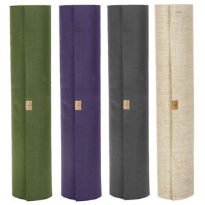 Yoga Mat Eco Phoenix Natural Rubber Pilates Fitness Exercise Non Slip 6mm Thick