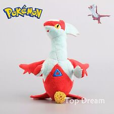 LATIAS Pokemon Center Plush Toy Soft Stuffed Animal Doll Figure 9'' Xmas Gift