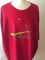 Mens 6x Yadier Molina St. Louis Cardinals Majestic Jersey Tshirt