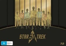 Star Trek 50th Anniversary Blu ray Box Set Complete Original+Animated series RB