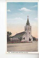 St Marie's Church Santa Maria CA Cal
