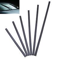 2PCS car bus silicone universal frameless windshield wiper blade refill TDO