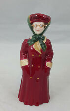 More details for royal worcester candle snuffer female motorist, ltd ed, boxed & coa reproduction