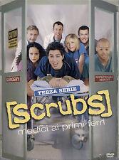 SCRUBS - Medici ai primi ferri - Stagione 3 (4 DVD) NUOVO E SIGILLATO
