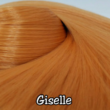 TDP Giselle Natural Peach Blonde Doll Hair Hank Rerooting for Dolls and Ponies