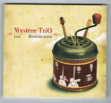 MYSTÈRE TRIO - LIVE - RESTONS SCÈNE - 2011 - CD 12 TITRES - NEUF NEW NEU
