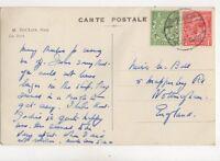 Port Said Paquebot 1934 Postmark 204b