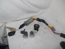 PEUGEOT 306 COMPLETE 4 PIECE LOCK SET WITH 2 REMOTE KEYS 2001 YR