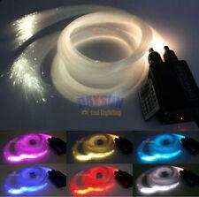 New RGBW 32W LED Fiber Optic Ceiling Light Kit 28key RF + 400pcs*0.75mm*2m