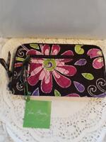 Vera Bradley~PURPLE PUNCH~Zip Around Wallet NWT~Retired~4 ToTe PuRsE EXACT 1