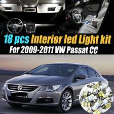 18Pc Super White Interior LED Light Bulb Kit Package for 2009-2011 VW Passat CC