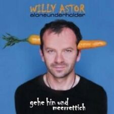 """WILLY ASTOR """"GEHE HIN UND MEERRETTICH"""" CD NEW"""