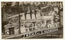 Gale & Co Shop Display 1911 South Norwood Fire Brigade Croydon RP old pc used