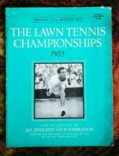 TENNIS 1955 WIMBLEDON LAWN TENNIS CHAMPIONSHIP PROGRAMME - 7th DAY