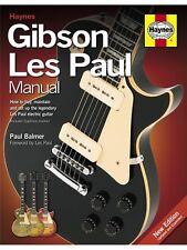 Haynes Gibson Les Paul Manual papier dos Apprendre Handbook Guitare Musique Livre