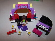 Lego 3932 Andrea's Stage Friends 100% Complete FREE SHIPPING