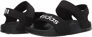 Unisex Kids Adidas Child Adilette Sandals Slide G26879 Color Black Brand New