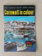 THE COTMAN-COLOR BOOK SERIES - CORNWALL IN COLOUR - TOURIST GUIDE 1969