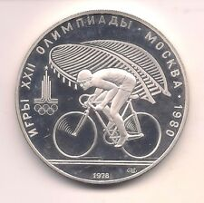 New listing 1980 Russia Silver Ten Roubles Olympic Commemorative-Proof !