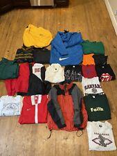 Vintage 80's 90's 00's 19 Item Mixed Clothing Lot Single Stitch Shirts, Champion