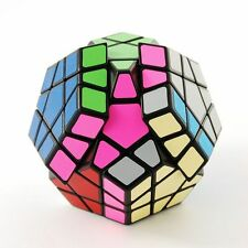 US Stock Shengshou Megaminx Black Magic Puzzle Speed Cube Brain Teaser Twist Toy