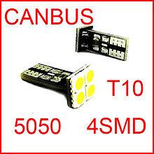 2 AMPOULE LED W5W CANBUS POUR PLAQUE PEUGEOT 207 307 308 407 607 508 HDI CC SW