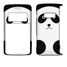 Panda Black White Silver  for LG EnV2 VX9100 Rubberized  Case Cover s