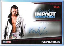 TNA Brian Kendrick 2011 Signature Impact Autograph RUBY RED 1 of 5 WWE