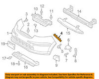 Chevrolet GM OEM 14-15 Silverado 1500 Front Bumper-Inner Bracket Left 22944861