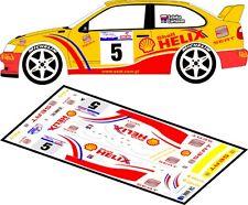 DECALS 1/43 SEAT CORDOBA WRC - #5 - SZTUKA - RALLYE DE POLOGNE 2001 - D43121