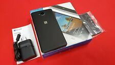 INBOX NEW Nokia Lumia 650 Windows Phone GSM GLOBAL Unlocked OEM EXTRAS. BLACK