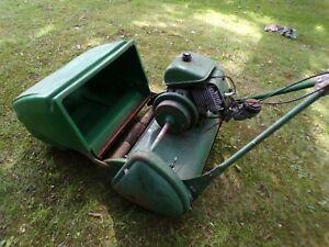 "Vintage Ransome Marquis 20"" self propelled petrol lawnmower"