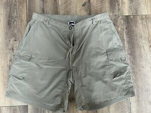 The North Face Ladies Beige Hiking Shorts - Size Large