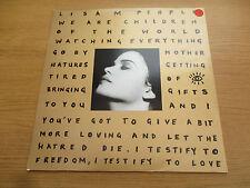 "Lisa M – People (Remixes)  Vinyl 12"" 45RPM UK 1991 Hip Hop, Acid Jazz   PZR 141"
