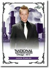 JASON EARLES 2013 LEAF NATIONAL EXCLUSIVE COLLECTORS PROMO CARD!