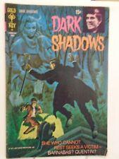 Gold Key Dark Shadows #9 (1971) Creatures in Torment, George Wilson, Joe Certa