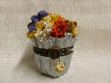 Boyds Bear Flora's Bloomin' Bunch W/ Daisy McNibble Treasure Box 82510 Nib
