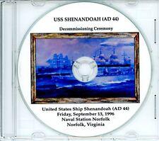 USS SHENANDOAH AD 44 Decal US NAVY Military USN S01
