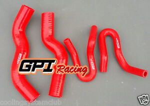 RED Silicone Radiator Heater Hose FOR Holden Rodeo RA 3.0 Turbo Diesel 2003-2007