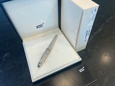 Mont Blanc Meisterstuck Solitaire Martele Sterling Silver Legrand Rollerball
