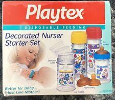 Vintage Playtex Decorated Nurser Set Nib Never Opened