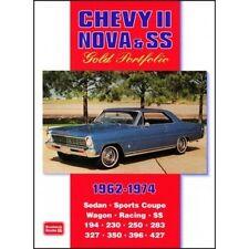 Chevy II Nova & SS Gold Portfolio 1962-1974 book paper