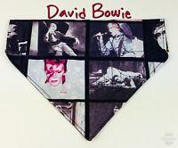 David Bowie Dog Bandana Over the Collar dog bandana scarf  puppy collar bandana
