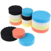 5pcs 3/4/5/ Inch Buffing Sponge Polishing Pad For Car Wax Hand Tool Kit TRFR