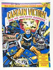 Jack Kirby capitán Victory y los rangers Galactic # 1 (cóndor, Soft Cover)
