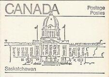Canada 1982 - 50¢ Maple Leaf Booklets #BK82 (labels bottom row)) - Saskatchewan