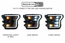 Ford F150 F-150 Morimoto XB LED Headlights - White DRL Fits - 2015 2016 2017