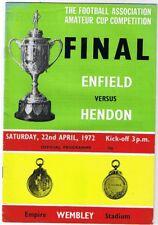 Enfield v Hendon 1972 Amateur Cup Final @ Wembley